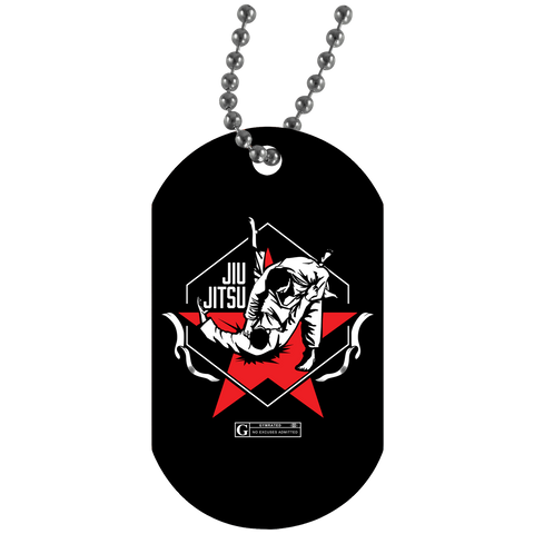 """Jiu Jitsu"" Dog Tags"