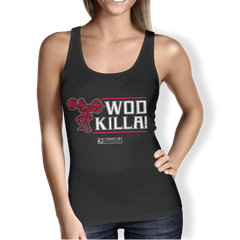"""WOD Killa!"" (v2) Women's Tees & Tanks"