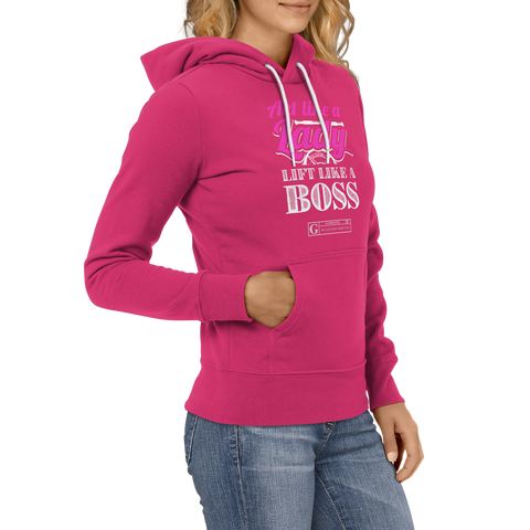 """Act Like a Lady, Lift Like a Boss"" Women's Long Sleeve Tees & Hoodies"