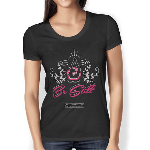 """Be Still Yoga"" Ladies Tees & Tanks"