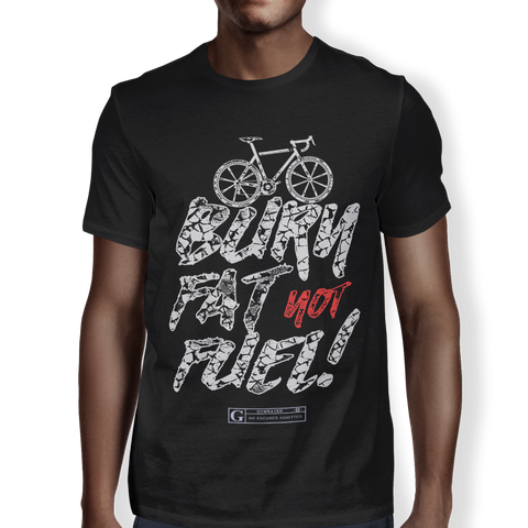 """Burn Fat Not Fuel"" Men's Tees & Tanks"