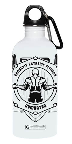 """Crossfit Extreme Fitness"" Stainless Steel Water Bottle"