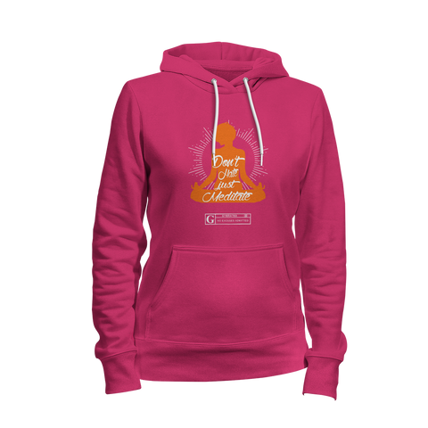 """Don't Hate Just Meditate"" Women's Long Sleeve Tees & Hoodies"