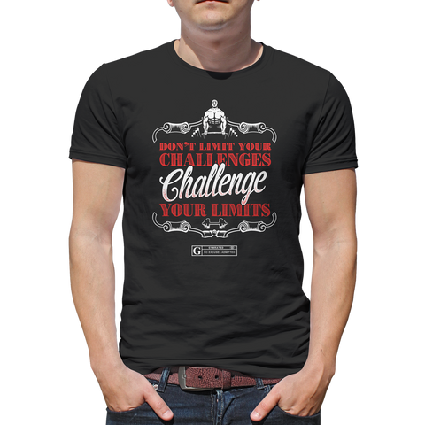 """Challenge Your Limits"" Tee & Tanks"