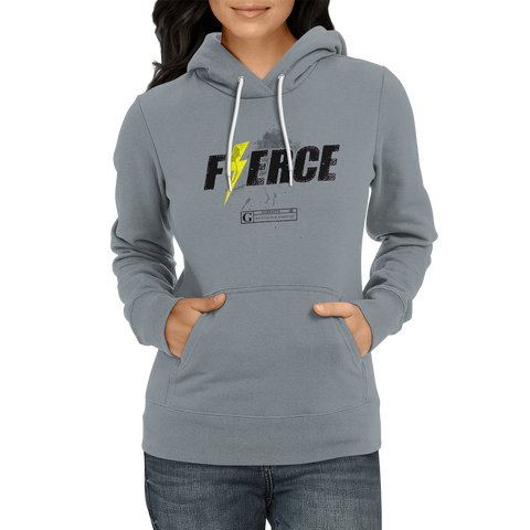 """Fierce"" Women's Long Sleeve Tees & Hoodies"