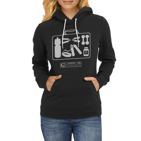 """Fitness Kit"" Women's Long Sleeve Tees & Hoodies"