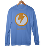 "Image of ""Thunderbolt"" Men's Long Sleeve Tees & Hoodies by GYMRATED™"