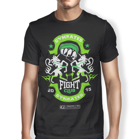 """GYMRATED Fight Club"" Men's Tees & Tanks"