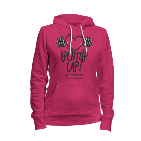 """Pump Up"" Women's Long Sleeve Tees & Hoodies"