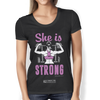 "Image of ""She Is Strong"" Ladies Tees & Tanks"