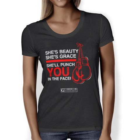 """She's Beauty She's Grace"" Ladies Tees & Tanks"