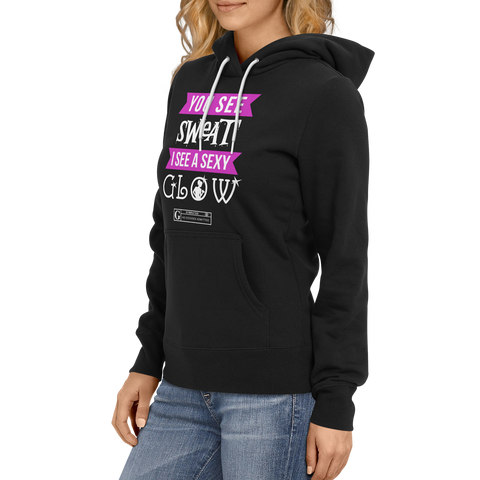 """Sexy Glow"" Women's Long Sleeve Tees & Hoodies"