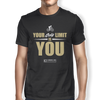 "Image of ""Your Only Limit Is You Cycling"" Men's Tees & Tanks"