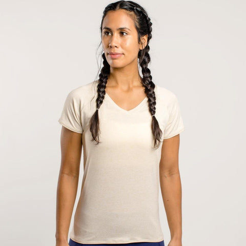 Oiselle Light Lux V-neck Tee
