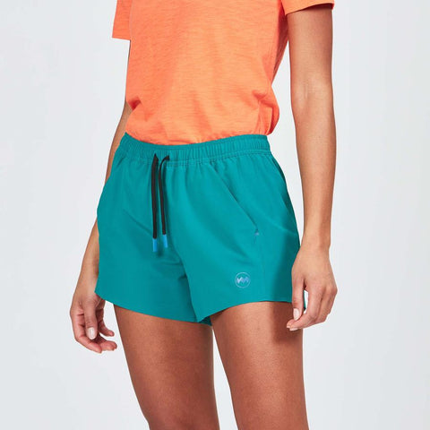"Women's Janji 4"" Transit Short Linerless"
