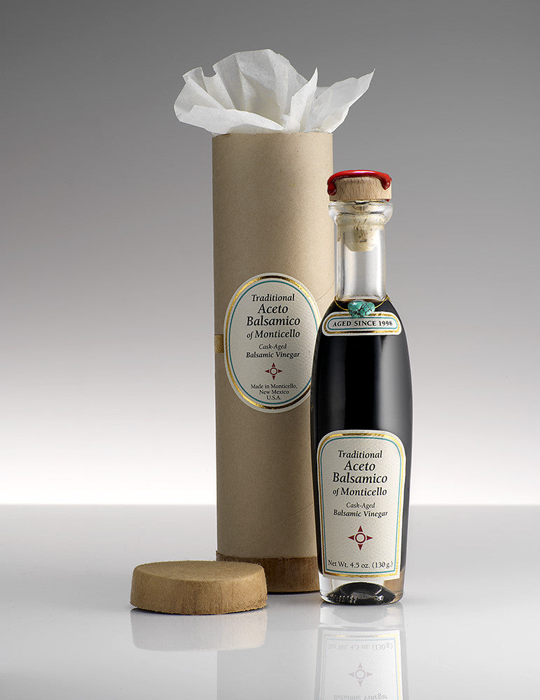 Traditional Aceto Balsamico of Monticello - 4.5 oz  <p> American-made with Organic Grapes </p> <p> Barrel-Aged for 20 Years</p>
