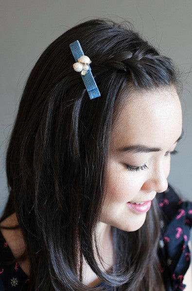 Asian fashion hair clip