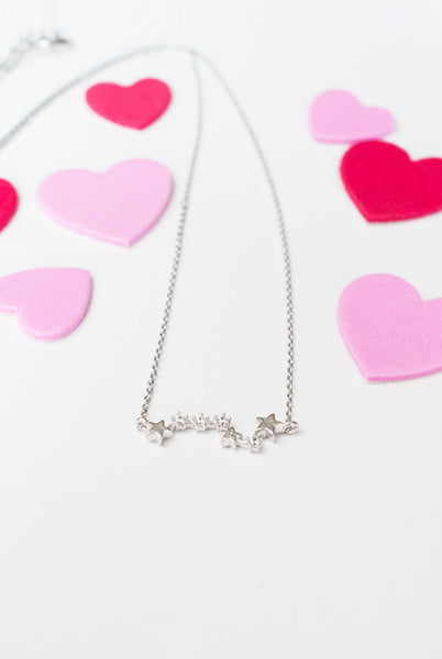 My Love From the Stars Necklace in Silver