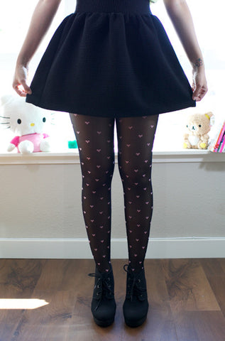 We Heart It Tights - Pink