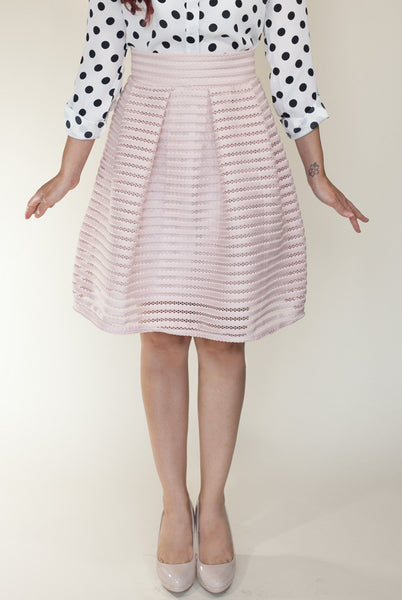 Tea Time Skirt in Blush