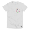Pocket of Flowers Monogram T-Shirt Letter E