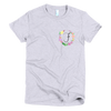 Pocket of Flowers Monogram T-Shirt Letter F