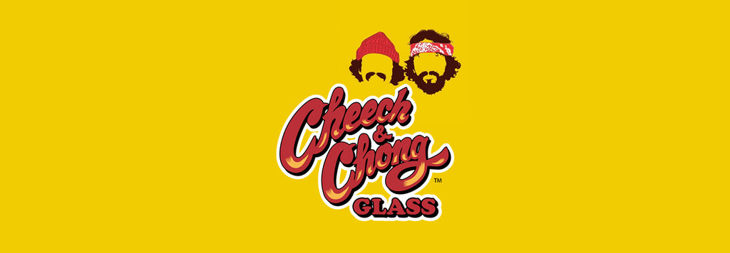 Cheech & Chong Glass