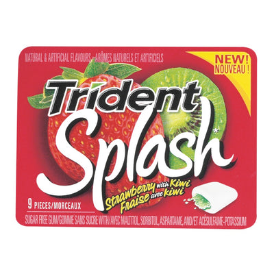 Trident Splash Strawberry With-Kiwi 9p - Jupiter