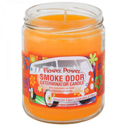 SMOKE ODOR EXTERMINATOR-13OZ Flower Power Candle - Jupiter