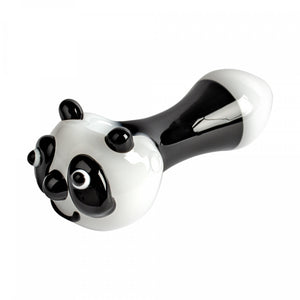 "RED EYE GLASS 4.5"" Panda Hand Pipe - Jupiter"