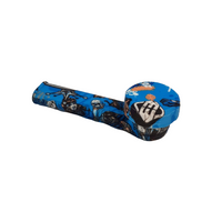 "3.5"" PATTERNED SILICONE PIPE - Jupiter"