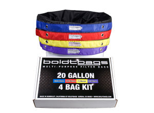 BoldtBags- Classic 20 Gallon 4 Bag Kit - Jupiter