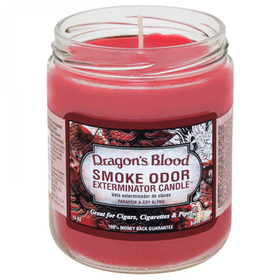 SMOKE ODOR EXTERMINATOR- 13oz Dragon's Blood Candle - Jupiter