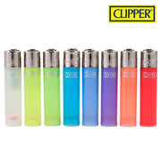 CLIPPER TRANSLUCENT COLOUR LIGHTERS - Jupiter