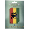 V Syndicate Grinder Card - Colour - Rasta Lion - Jupiter