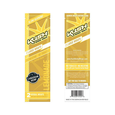 Kush Herbal Hemp Wraps - Lemonade - Jupiter