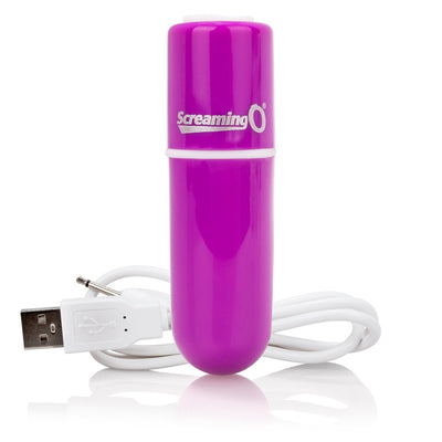 Screaming O- Charged Vooom Rechargeable Bullet Vibe - Jupiter