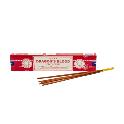 Satya- Nag Champa Dragon's Blood Incense 15g - Jupiter