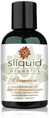 Sliquid Oceanics Carrageenan Lube 4.2oz - Jupiter