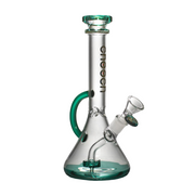 "10"" Loop Beaker by Cheech Glass - Jupiter"