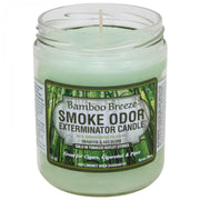 SMOKE ODOR EXTERMINATOR- 13oz Bamboo Breeze Candle - Jupiter