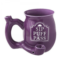 Sip Puff Pass Mug Pipe - Jupiter