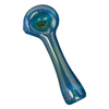 "Red Eye Glass 4.5"" Solid Colour Spoon Hand Pipe - Jupiter"