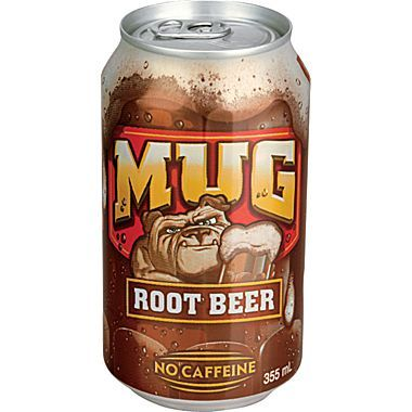 Mugs Root Beer 355ml - Jupiter
