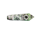 Solid Ruby Zoisite Crystal Pipe - Jupiter