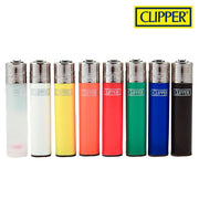 CLIPPER SOLID COLOUR LIGHTERS - Jupiter