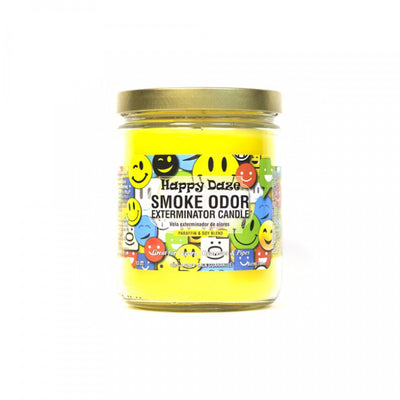 SMOKE ODOR EXTERMINATOR- 13oz Happy Daze Candle - Jupiter