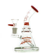"Cheech & Chong Up in Smoke ""Strawberry"" 7.25"" Water Pipe - Red - Jupiter"