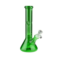 "10"" Day Glow Beaker Tube with Dome Perc - Jupiter"