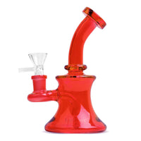"5"" Day Glow Bubbler with UFO Percolator - Jupiter"